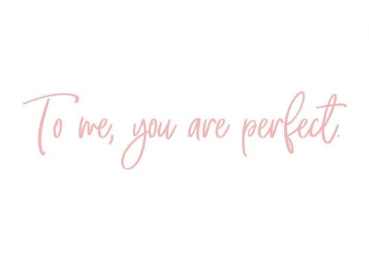 Poster To me you are perfect 1