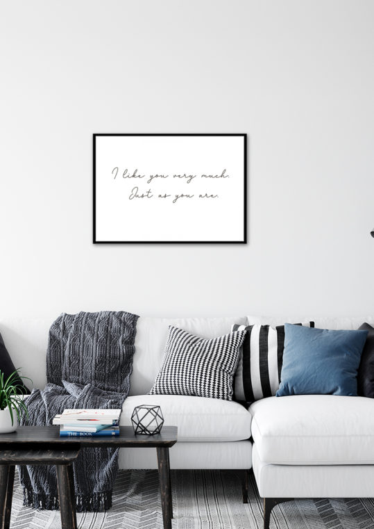 Poster I like you very much... 2