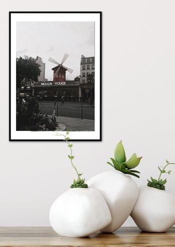 - -- PosterParis Moulin Rouge 2