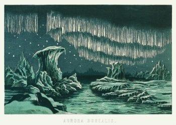Poster Aurora Borealis 1