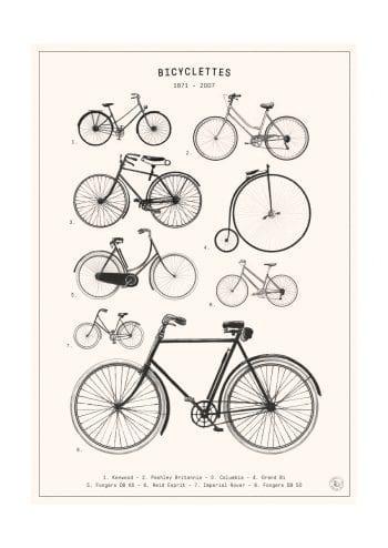- Florent Bodart PosterBicyclettes 1