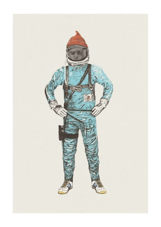 - Florent Bodart PosterZissou In Space 1