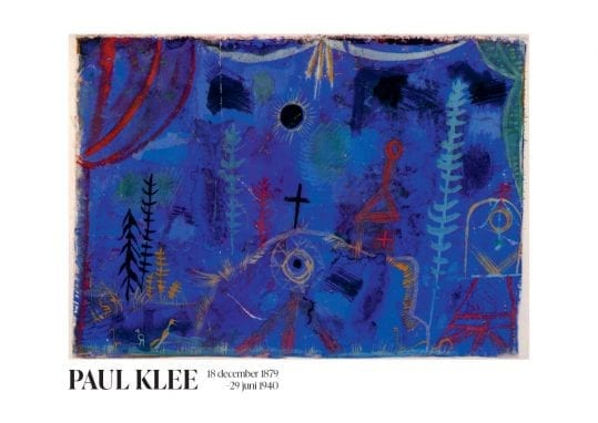 Poster Paul Klee Hermitage poster 1