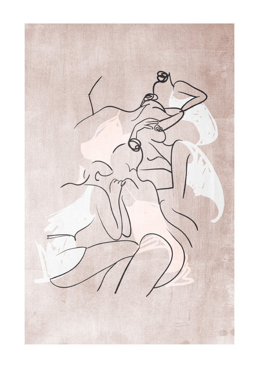 – Kubistika PosterFemmes Fatales 1