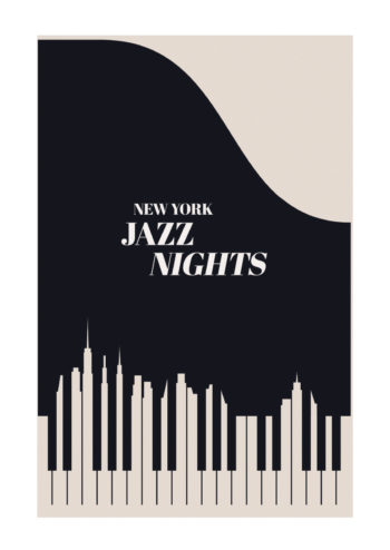 Poster Jazz NYC 1