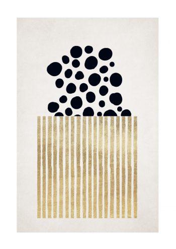 - Kubistika PosterPopcorn 1
