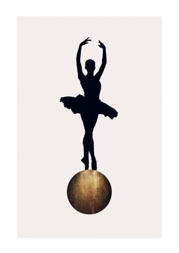 - Kubistika PosterPrima Ballerina Gold 1