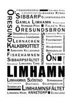 - -- PosterLimhamn Ordtavla 2 1