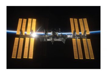 Poster ISS International Space Station 1