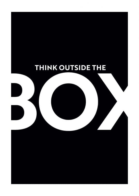 Poster Think outside the box 2 1