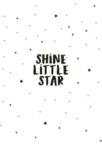 Poster Shine little star 1