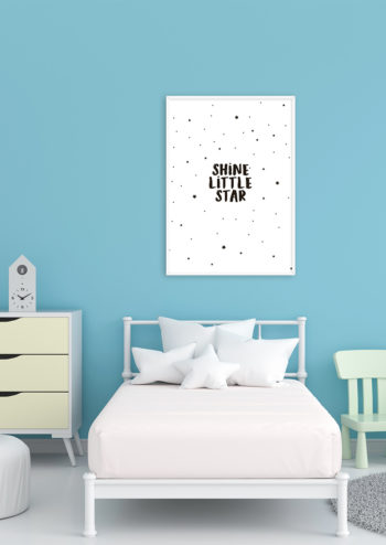 Poster Shine little star 2