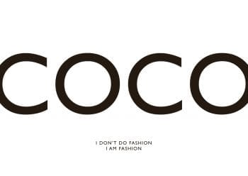 Poster Coco - I don´t do fashion I am fashion 1