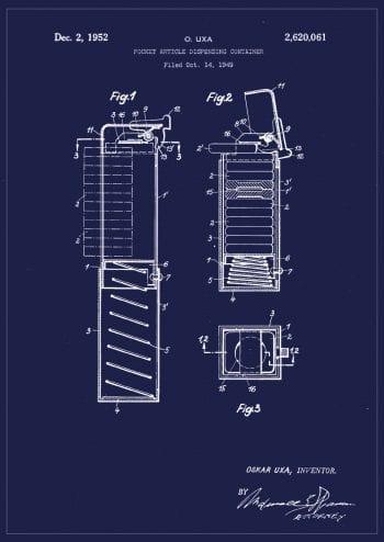 Poster Patent PEZ 1