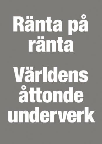 Poster Ränta på Ränta 1