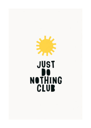 - Kubistika PosterJust do nothing Club 1