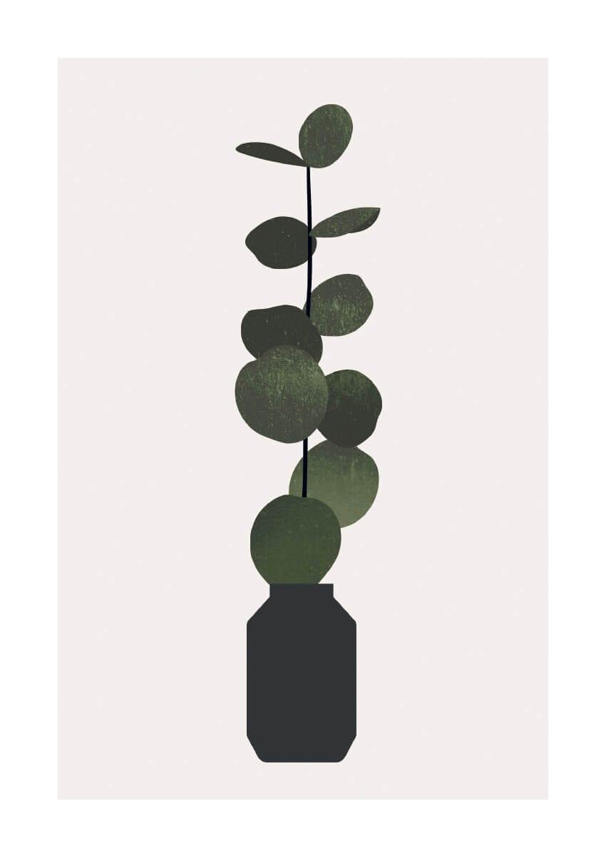 – Kubistika PosterUcalyptus 1