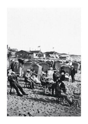 Poster Sylt Westerland strand 2 1890 Hochformat 1