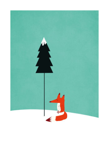 - Kubistika PosterMister Fox 1