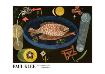 Poster Around The Fish Paul Klee Poster 1