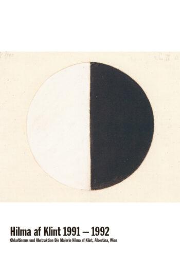 Poster Utgångsbild Nr.1 Hilma af Klint | Utställningsaffisch 1