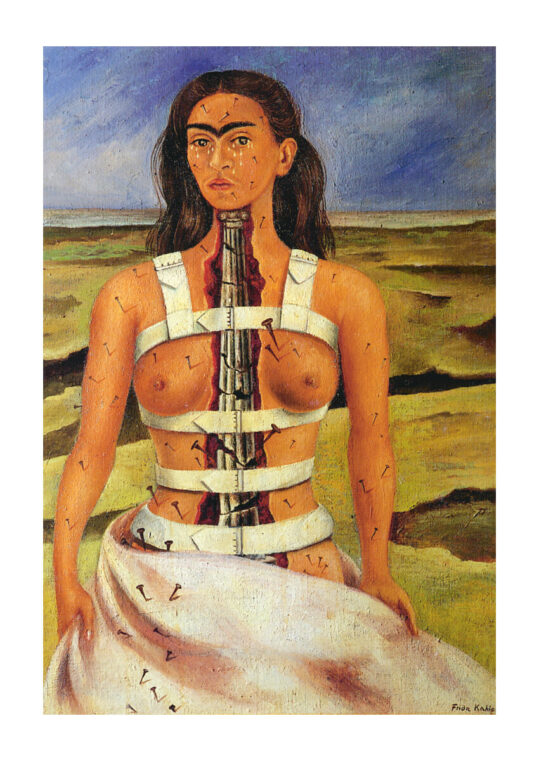 Poster Frida Kahlo The broken column 1