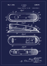Poster Häftapparat patent 1
