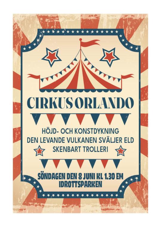 Poster Cirkus Orlando 1