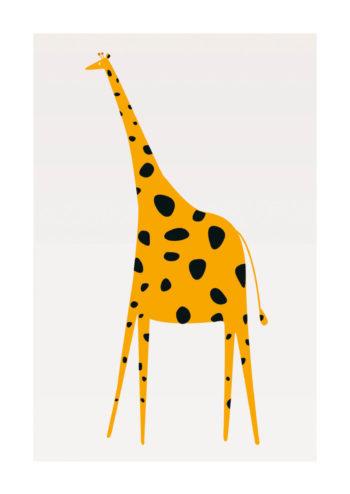 - Kubistika PosterCute Giraffe 1