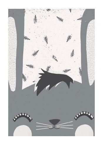 - treechild PosterFruhling hasi grey 1