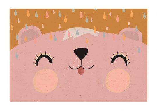 - treechild PosterHappy bear rosy 1
