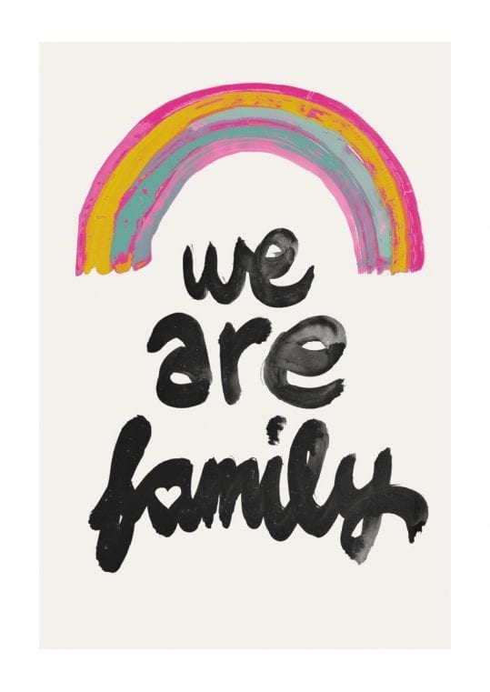 - treechild PosterWe are family 1